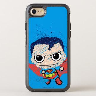 Mini croquis de Superman Coque Otterbox Symmetry Pour iPhone 7