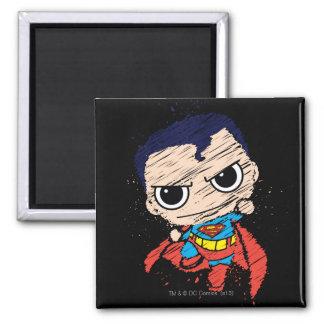 Mini croquis de Superman - vol Aimant