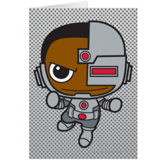 Mini cyborg carte de vœux