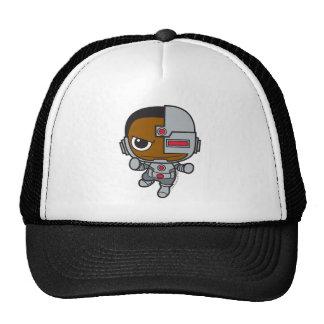 Mini cyborg casquettes