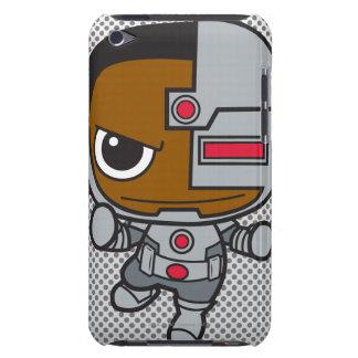 Mini cyborg étuis barely there iPod