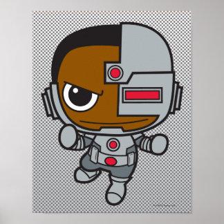 Mini cyborg posters
