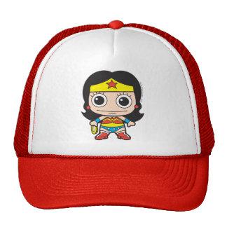 Mini femme de merveille casquette de camionneur