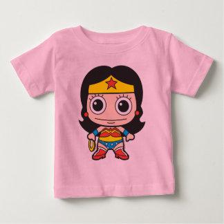 Mini femme de merveille t-shirt pour bébé
