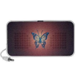 Mini haut-parleurs de papillon
