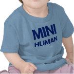 Mini humain (bleu) t-shirts