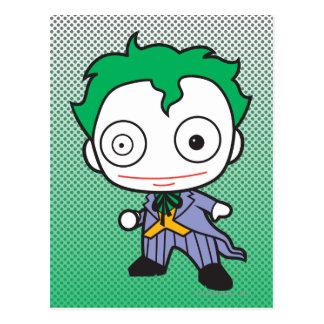 Mini joker carte postale