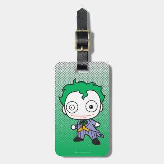 Mini joker étiquette pour bagages
