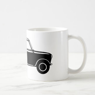 Mini noir simple mug