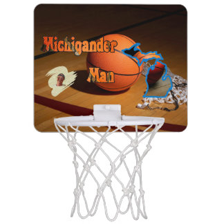 Mini-panier De Basket Boule de Michigander !