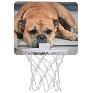 Mini-panier De Basket Bouledogue continental personnalisable