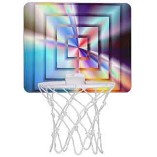 Mini-panier De Basket Carrés brillants