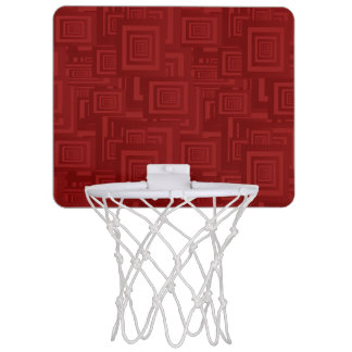 Mini-panier De Basket Carrés marron