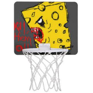 Mini-panier De Basket Cercle de basket-ball de fromage de tueur mini