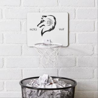Mini-panier De Basket Cercle de basket-ball d'édition de loup de MORs