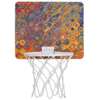 Mini-panier De Basket Cercles concentriques