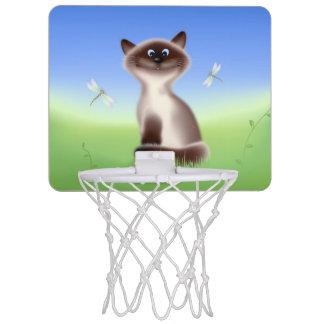 Mini-panier De Basket Chat astucieux