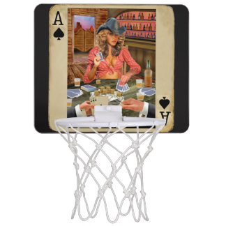 Mini-panier De Basket Cow-girl de Gamblin