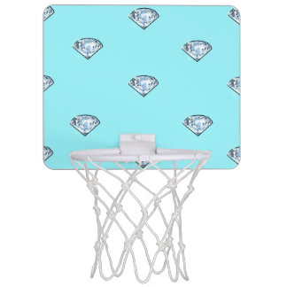 Mini-panier De Basket Diamants brillants chics élégants Girly