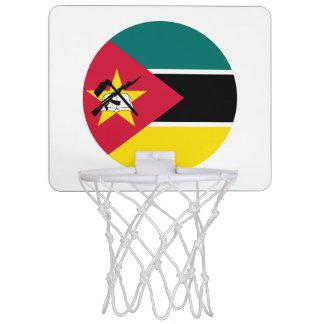 Mini-panier De Basket Drapeau de la Mozambique