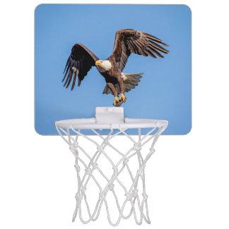 Mini-panier De Basket Eagle chauve avec un poisson