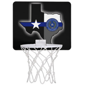 Mini-panier De Basket La Division de liberté conditionnelle du Texas