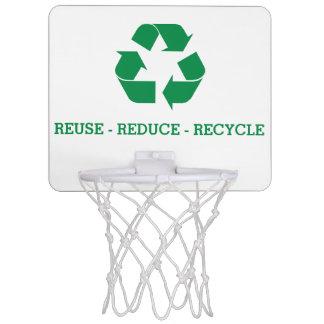 Mini-panier De Basket La réutilisation réduisent réutilisent