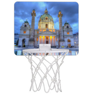 Mini-panier De Basket L'église de Charles de saint à Vienne, Autriche