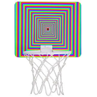 Mini-panier De Basket Mini cercle de basket-ball - illusion optique