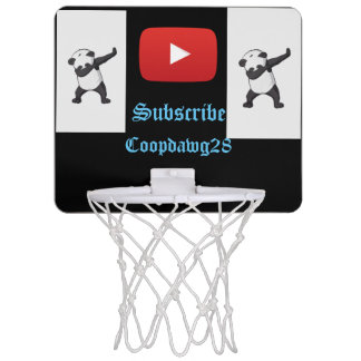 Mini-panier De Basket Mini cercle youtube de basket-ball