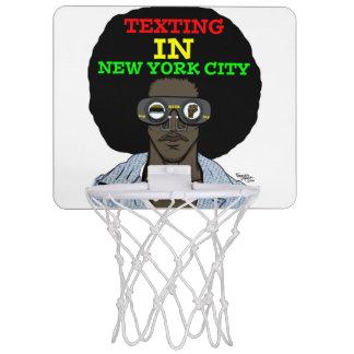Mini-panier De Basket Service de mini-messages dans le cercle de