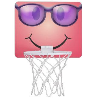 Mini-panier De Basket Smiley avec des verres