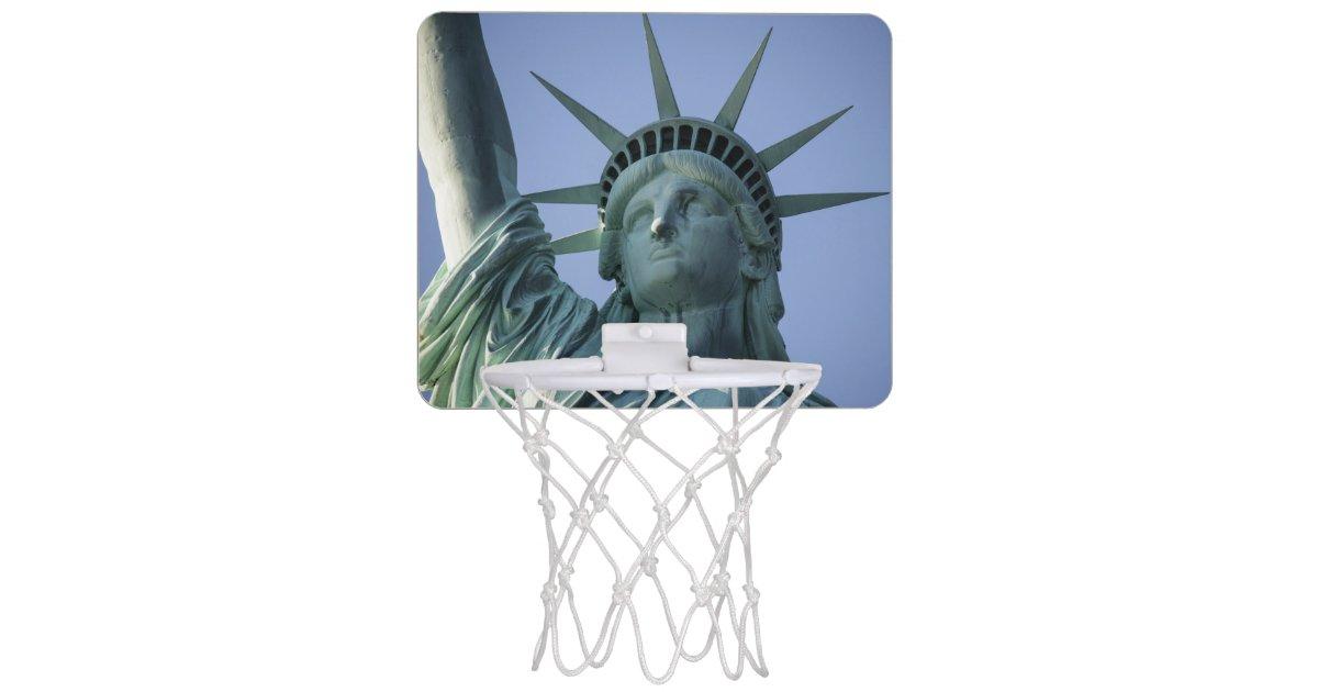 mini panier de basket statue de mini cercle de libert. Black Bedroom Furniture Sets. Home Design Ideas