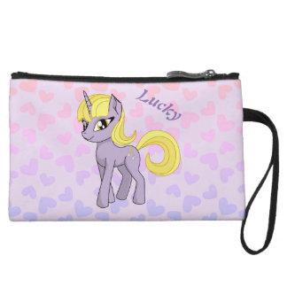 Mini-pochette Belle licorne