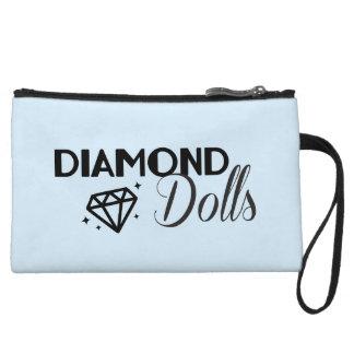 Mini-pochette Embrayage de poupées de diamant mini