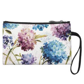 Mini-pochette Fleurs colorées de ressort