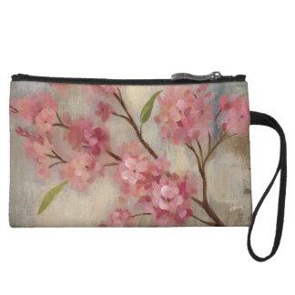 Mini-pochette Fleurs de cerisier et branche