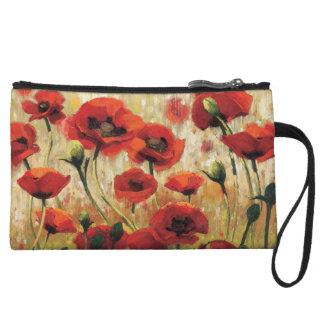 Mini-pochette Fleurs de ressort dans un jardin