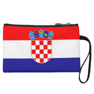 Mini-pochette Portefeuille de bracelets de drapeau de la Croatie