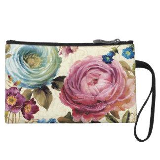 Mini-pochette Rose et rose de bleu