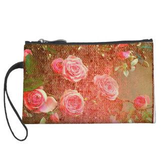 Mini-pochette Roses