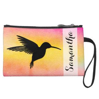 Mini-pochette Simili Daim Embrayage texturisé de Colibr de colibri
