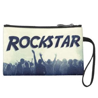 Mini-pochette Simili Daim Vous êtes un Rockstar !