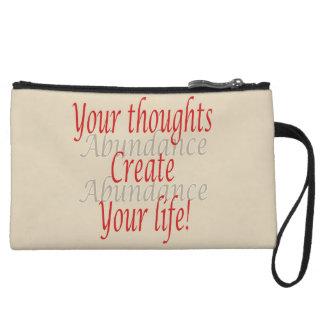 Mini-pochette Vos pensées créent votre vie