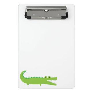 Mini Porte-bloc Alligator vert mignon