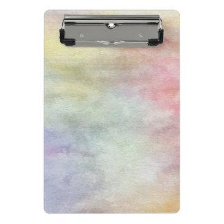 Mini Porte-bloc arrière - plan abstrait d'aquarelle d'art sur le