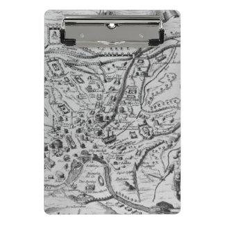 Mini Porte-bloc Carte de Rome antique