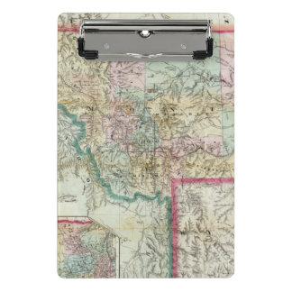 Mini Porte-bloc Carte du territoire du Montana