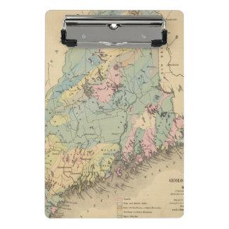 Mini Porte-bloc Carte géologique du Maine