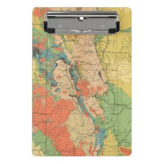 Mini Porte-bloc Carte géologique générale du Colorado